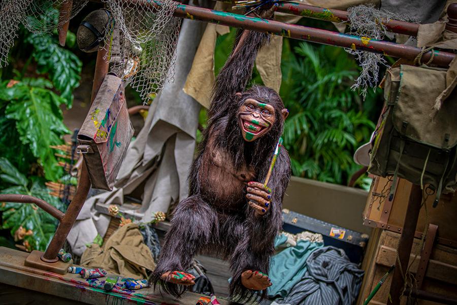 Jungle Cruise Chimpanzee