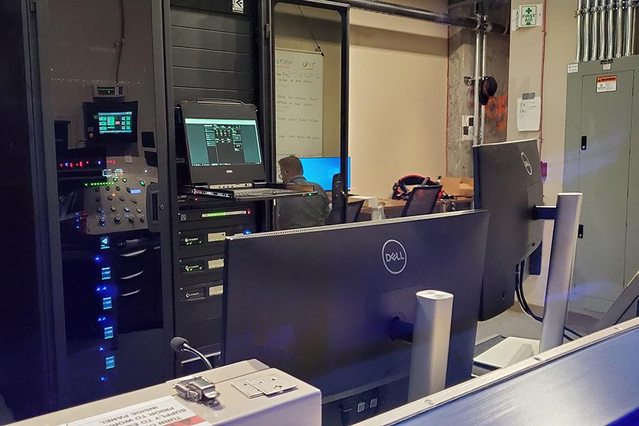 FlyOver Control Room
